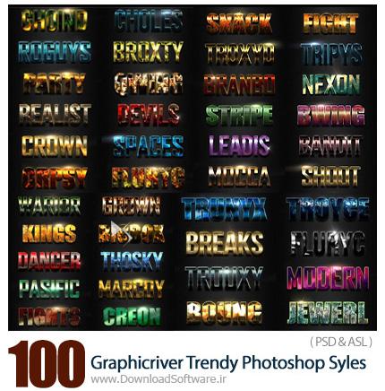 Graphicriver-100-Trendy-Photoshop-Syles-Big-Bundle