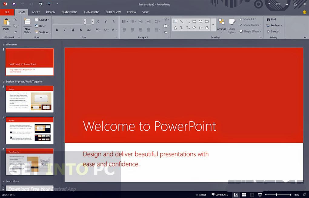 دانلود آفیس Microsoft Office 2016 Pro Plus VL July - نرم افزار آفیس 2016