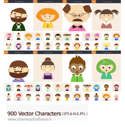 Vector-Characters