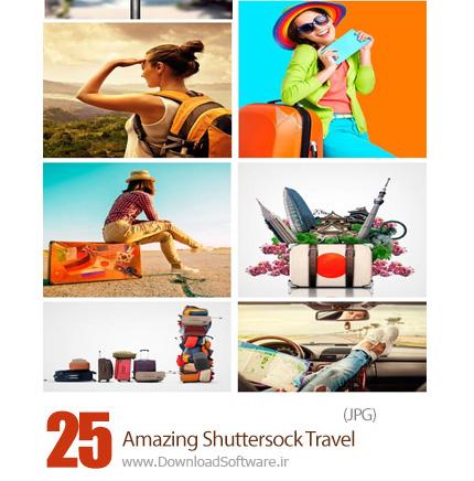دانلود تصاویر با کیفیت سفر، وسایل سفر، مسافر و ... از شاتر استوک - Amazing Shuttersock Travel