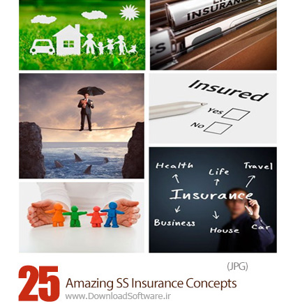 دانلود تصاویر با کیفیت مفهوم بیمه از شاتراستوک - Amazing Shutterstock Insurance Concepts