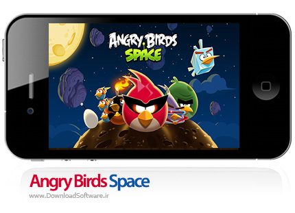 دانلود بازی Angry Birds Space برای ios