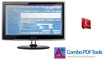 دانلود Aplus Combo PDF Tools + Portable نرم افزار کار با فایل PDF