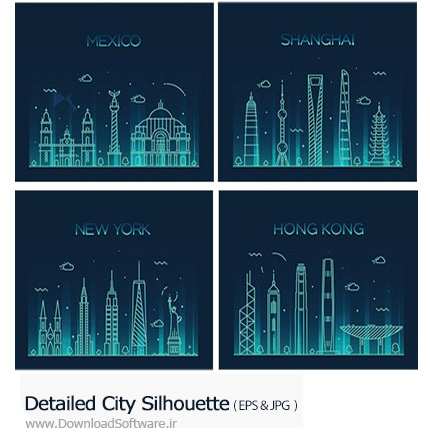 Detailed-City-Silhouette