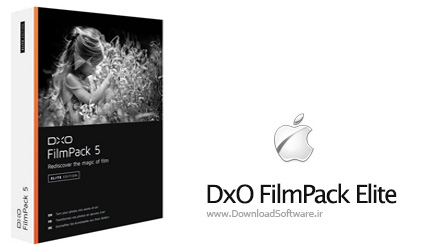 دانلود DxO FilmPack Elite Mac OSX نرم افزار ویرایش تصاویر مک