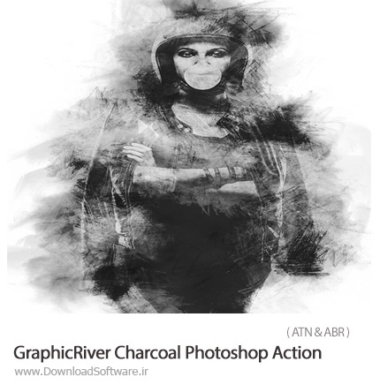 GraphicRiver-Charcoal-Photoshop-Action