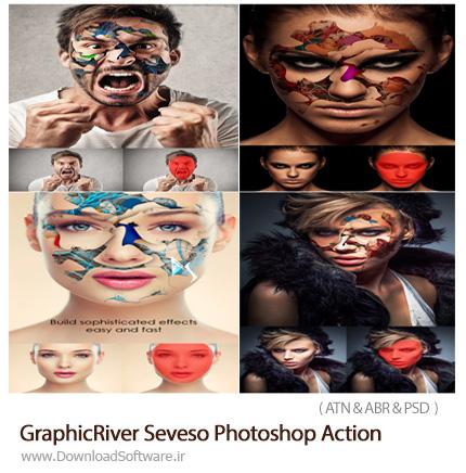دانلود اکشن فتوشاپ GraphicRiver Seveso Photoshop Action