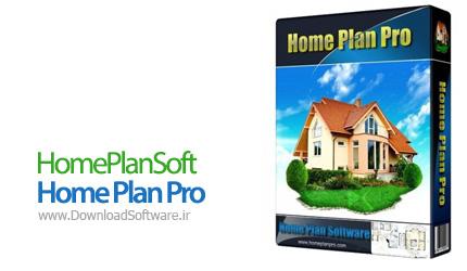 دانلود نرم افزار HomePlanSoft Home Plan Pro
