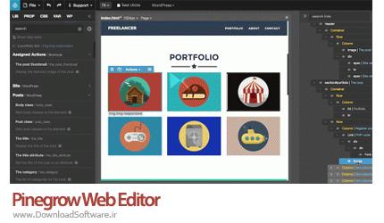 Humane-technologies-Pinegrow-Web-Editor