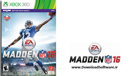 دانلود بازی Madden NFL 16 برای Xbox 360