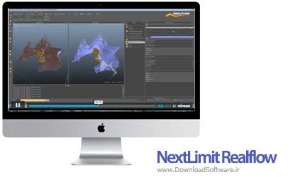 دانلود نرم افزار NextLimit Realflow برای مک