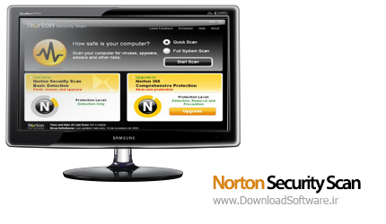 دانلود نرم افزار Norton Security Scan