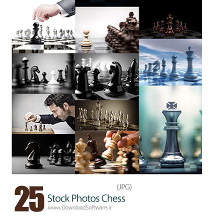 دانلود تصاویر با کیفیت شطرنج، مهرهای شطرنج - Stock Photos Chess