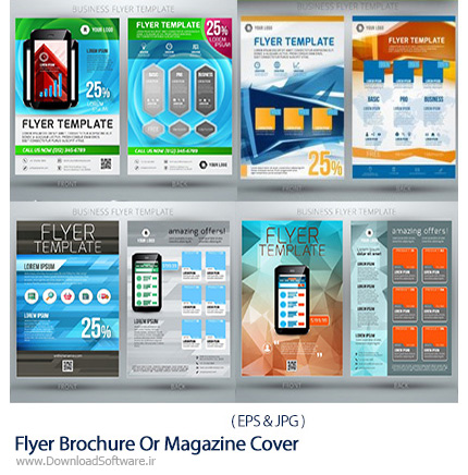 Stock-Vector-Flyer-Brochure-Or-Magazine-Cover-Template