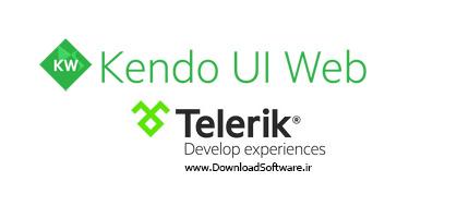 دانلود Telerik Kendo UI Complete Commercial Edition نرم افزار برنامه نویسی موبایل