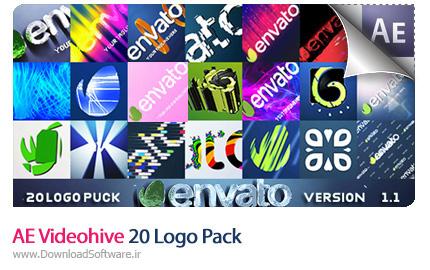 دانلود AE Videohive 20 Logo Pack