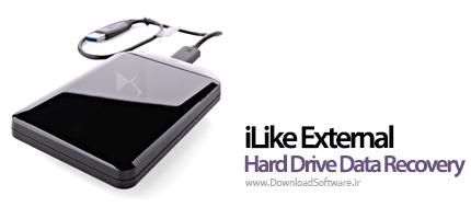دانلود برنامه iLike External Hard Drive Data Recovery - نرم افزار بازیابی اطلاعات در هارد اکسترنال