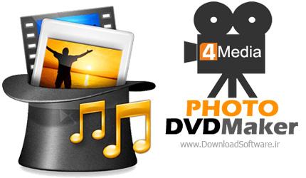 دانلود 4Media Photo DVD Maker نرم افزار ایجاد تصاویر دی وی دی