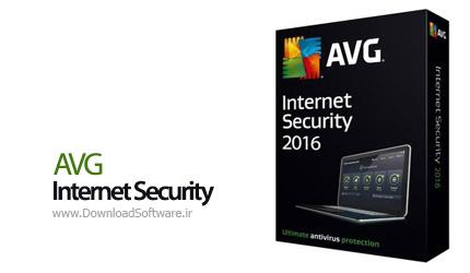 دانلود ای وی جی اینترنت سکوریتی AVG Internet Security نرم افزار بسته امنیتی AVG