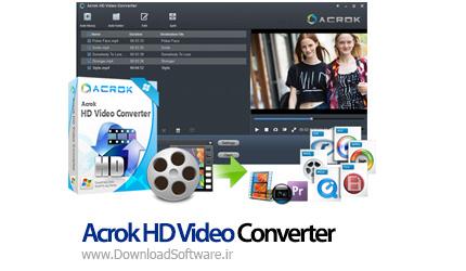 دانلود Acrok HD Video Converter نرم افزار مبدل ویدیو HD
