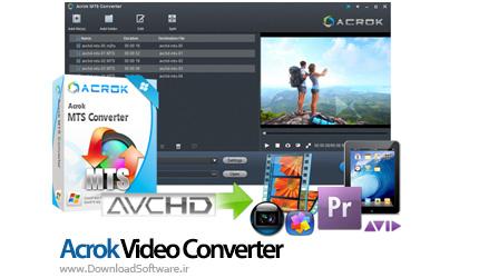 دانلود Acrok MTS Converter نرم افزار مبدل فایل MTS