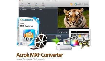 دانلود Acrok MXF Converter نرم افزار مبدل MXF