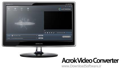 دانلود Acrok Video Converter نرم افزار تبدیل کننده ویدیو
