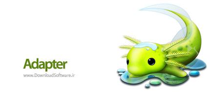 دانلود Adapter نرم افزار مبدل عکس،صوتی و تصویر