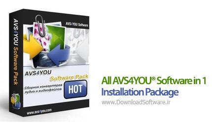 دانلود All AVS4YOU® Software in 1 Installation Package مجموعه برنامه های شرکتAVS4YOU