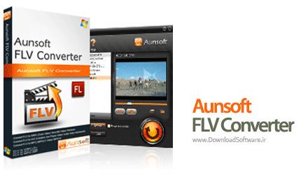 دانلود Aunsoft FLV Converter نرم افزار مبدل فایل FLV