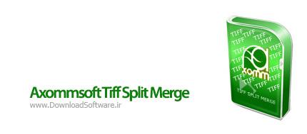 دانلود Axommsoft Tiff Split Merge نرم افزار ترکیب و ادغام فایل Tiff