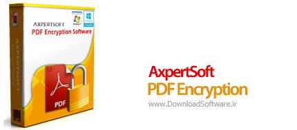 دانلود AxpertSoft PDF Encryption نرم افزار رمزگذاری فایل PDF