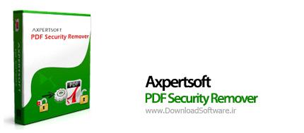 دانلود Axpertsoft PDF Security Remover نرم افزار حذف رمز پی دی اف