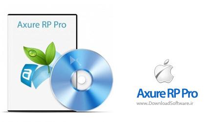 دانلود Axure RP نرم افزار نمونه سازی وب سایت Mac
