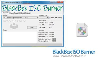 دانلود BlackBox ISO Burner نرم افزار رایت فایل ISO