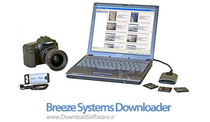 دانلود Breeze Systems Downloader Pro نرم افزار انتقال تصاویر برای عکاسان