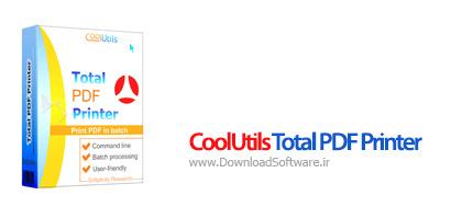 دانلود CoolUtils Total PDF Printer نرم افزار چاپ و پرینت PDF