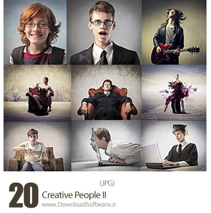 دانلود تصاویر با کیفیت مردم خلاق - Creative People II