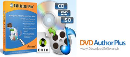 دانلود DVD Author Plus نرم افزار کار با CD و DVD