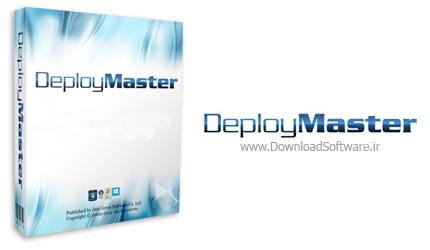 دانلود DeployMaster - نرم افزار ساخت فایل نصب حرفه ای برای برنامه ها