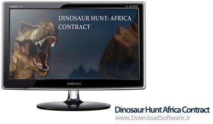 دانلود بازی کم حجم Dinosaur Hunt Africa Contract برای کامپیوتر