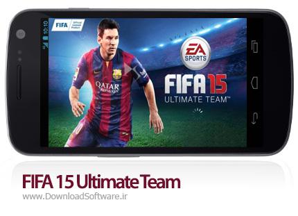 دانلود FIFA 15 Ultimate Team بازی فیفا 15 تیم رویایی برای اندروید