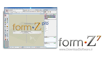 دانلود FormZ Pro - مدل ساز سه بعدی