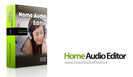 دانلود Home Audio Editor نرم افزار ویرایشگر فایل صوتی
