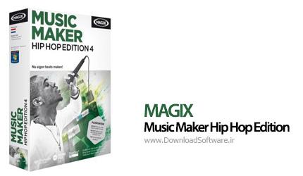 دانلود MAGIX Music Maker Hip Hop Edition 6 نرم افزار ساخت موزیک هیپ هاپ