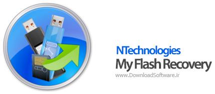 دانلود NTechnologies My Flash Recovery بازیابی اطلاعات فلش مموری