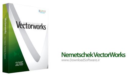 دانلود Nemetschek VectorWorks 2015 - نرم افزار طراحی دکوراسیون داخلی و خارجی