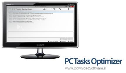 دانلود PC Tasks Optimizer نرم افزار بهینه ساز کامپیوتر