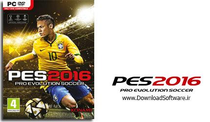 دانلود بازی PES 2016 برای PC
