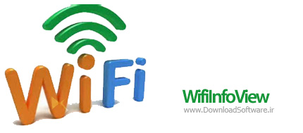 دانلود WifiInfoView نرم افزار شناسایی مشخصات شبکه های wifi